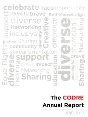 2018-19 CODRE Annual Report thumbnail