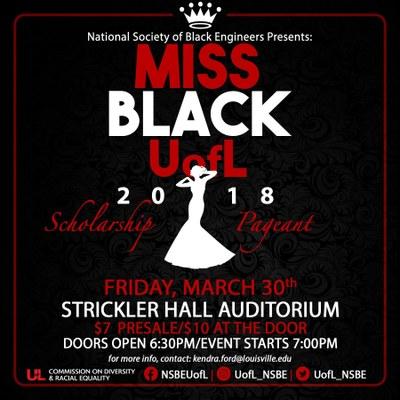 Ms Black UofL 2018