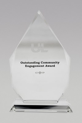 Community Engagement Crystal Award