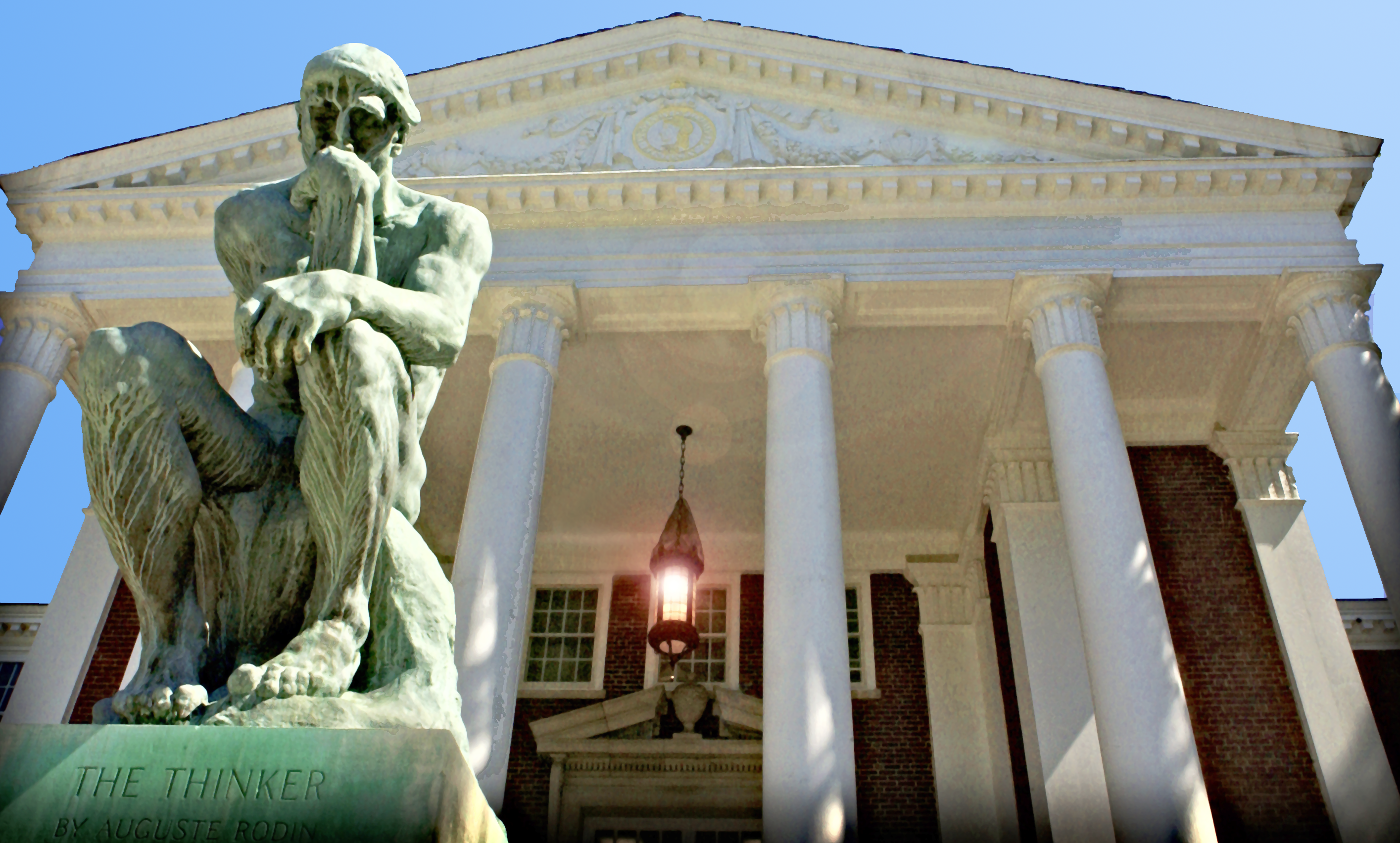 The Thinker at Grawmeyer Hall