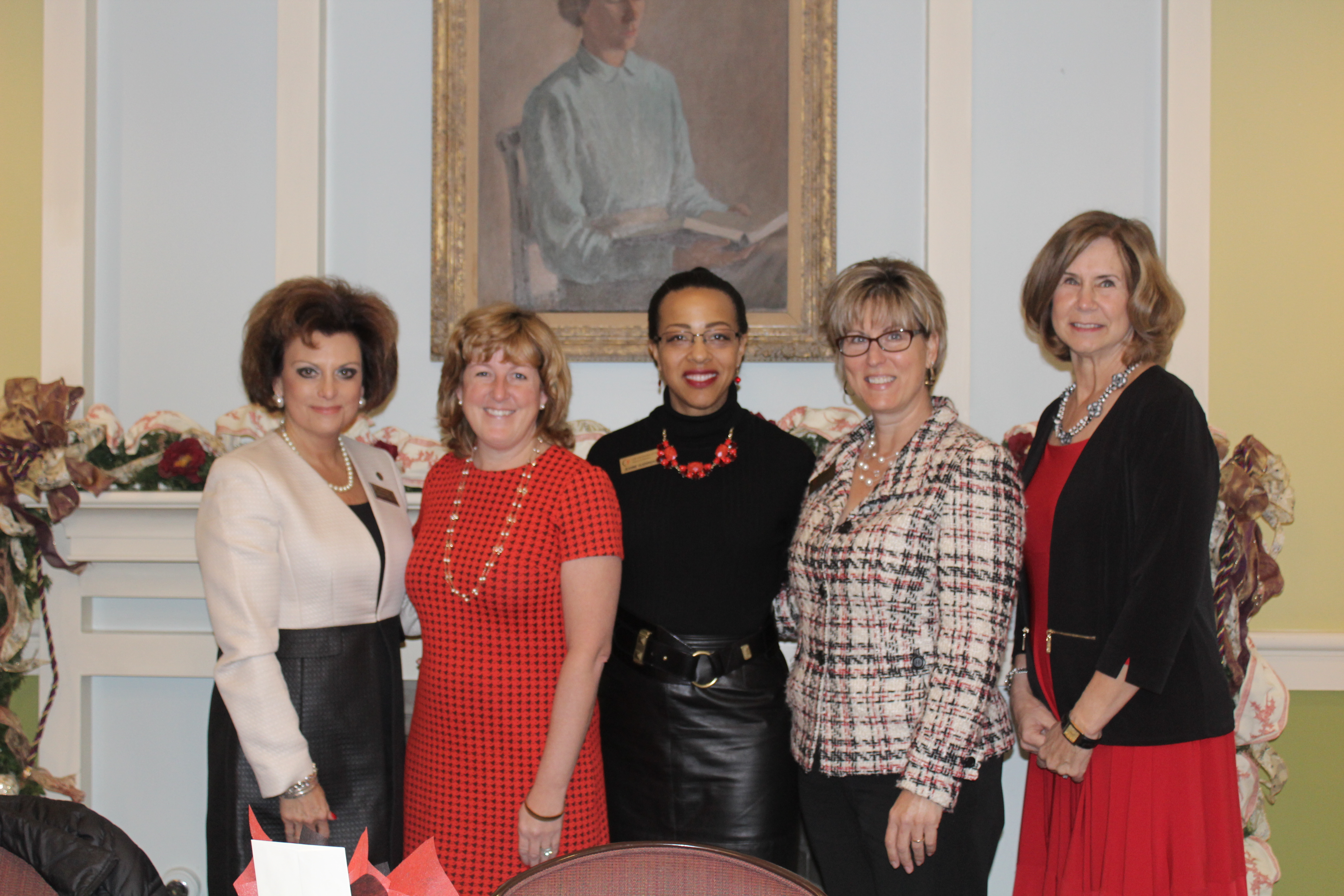 Chair Guerrero, Communications Chair Sherry Duffy, with Panelists:Dr. Ann Larson, Dr. Susan Duncan, and Dr. Marcia Hern