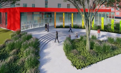 picture of the new building