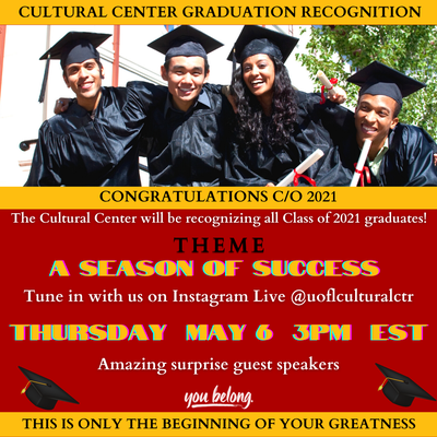 2021 Graduation Recognition
