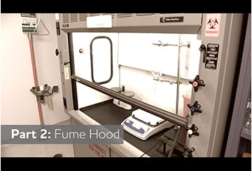 Link to Fume Hood video
