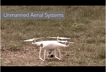 Link to Unmanned Aerial Systems video