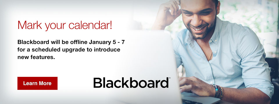Mark Your Calendar - Blackboard Upgrade