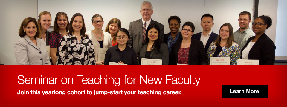 Seminar on teaching for new faculty