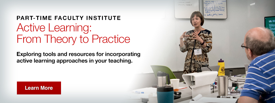 2017 Part-time faculty institute