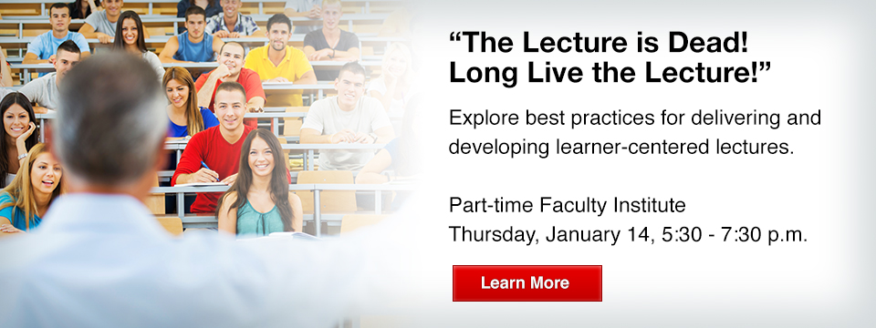 Long Live the Lecture