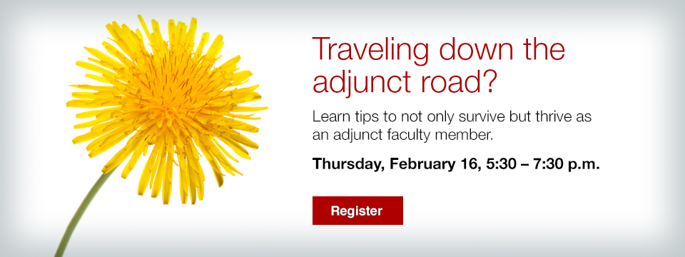 Traveling down the adjunct road?