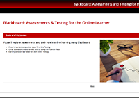 Assessments and Testing Module