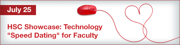 "HSC Showcase: Technology ""Speed Dating"" for Faculty"