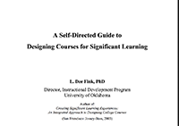 A Self-Directed Guide to Designing Courses for Significant Learning
