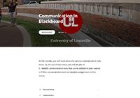 Communicating in Blackboard Module