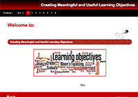 Learning Objectives Module