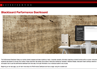 Performance Dashboard Module