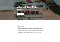 Video and Other Digital Media