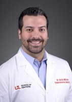 Image of Dr. Justin Whitney, DMD at the University of Louisville School of Dentistry