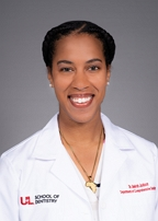 Image of Dr. Amirah D. Jackson, DMD at the University of Louisville School of Dentistry
