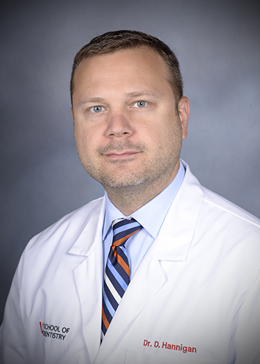 Image of Dr. David Hannigan, DMD at the University of Louisville School of Dentistry