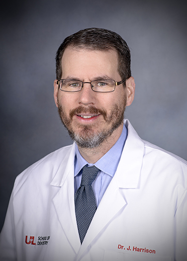 Image of Dr. James L. Harrison, DMD at the University of Louisville School of Dentistry