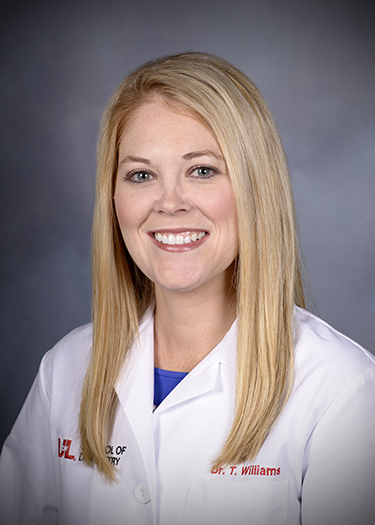 Image of Dr. Tarin Thomas Williams, DMD at the University of Louisville School of Dentistry