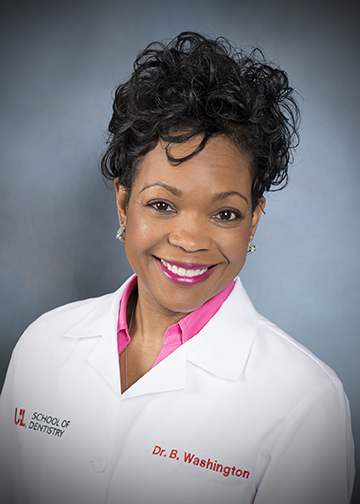 Image of Dr. Breacya D. Washington, DMD at the University of Louisville School of Dentistry