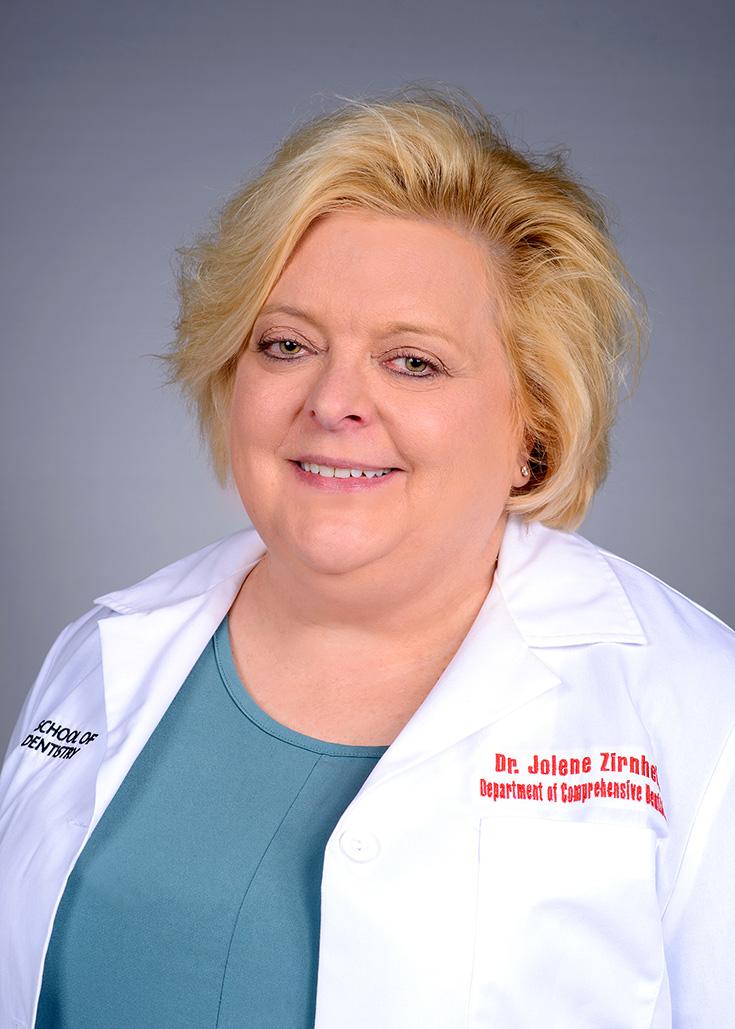Image of Dr. Jolene Zirnheld, DMD at the University of Louisville School of Dentistry