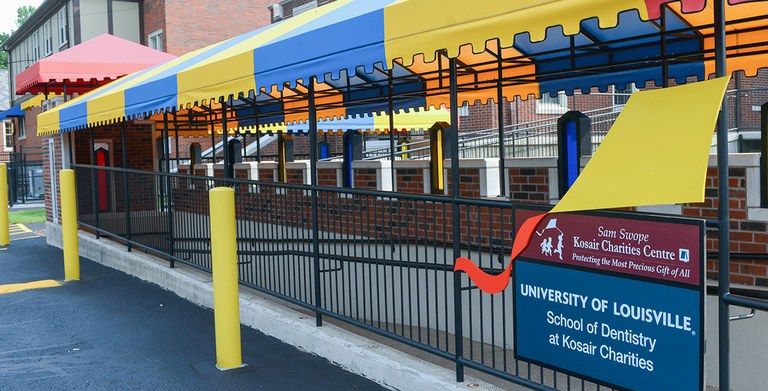 Image of the University of Louisville School of Dentistry Pediatric Clinic at Eastern Parkway
