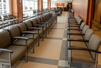 Image of second floor waiting room at the University of Louisville School of Dentistry