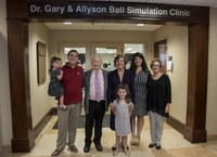 Dental school simulation clinic named in honor of alumni donor