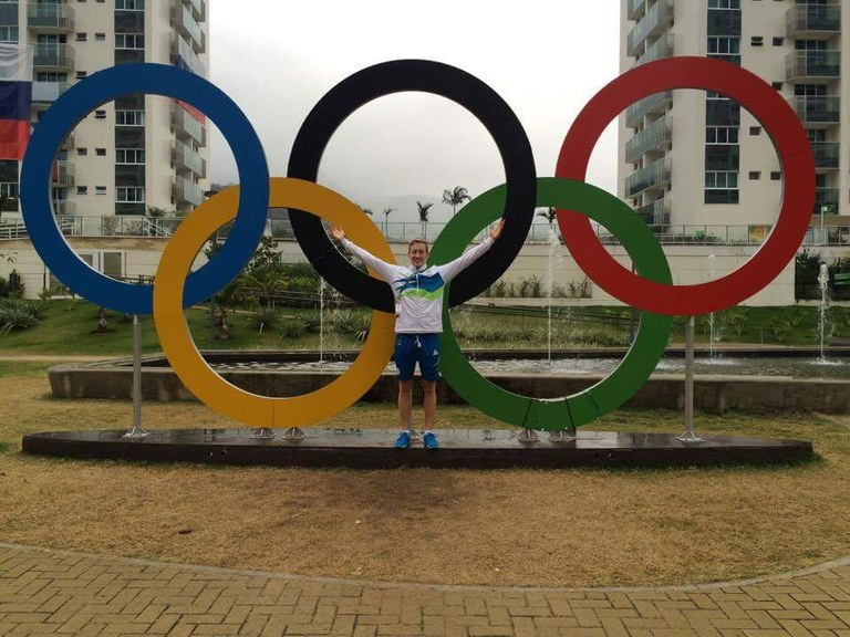 Anže Tavčar, a fourth-year student at the University of Louisville School of Dentistry, represented his home country of Slovenia at the 2016 Olympic Games in Rio de Janeiro.