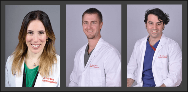 Prosthodontic residents win all three awards in clinical poster competition