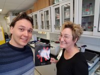 M.S. in Oral Biology student finds unique opportunity in Sandell's lab