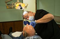 No dental care for miles around