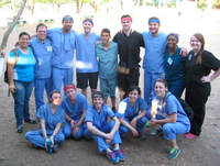 Students impact oral health in Honduras
