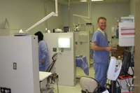 Image of student working in clinic - University of Louisville School of Dentistry