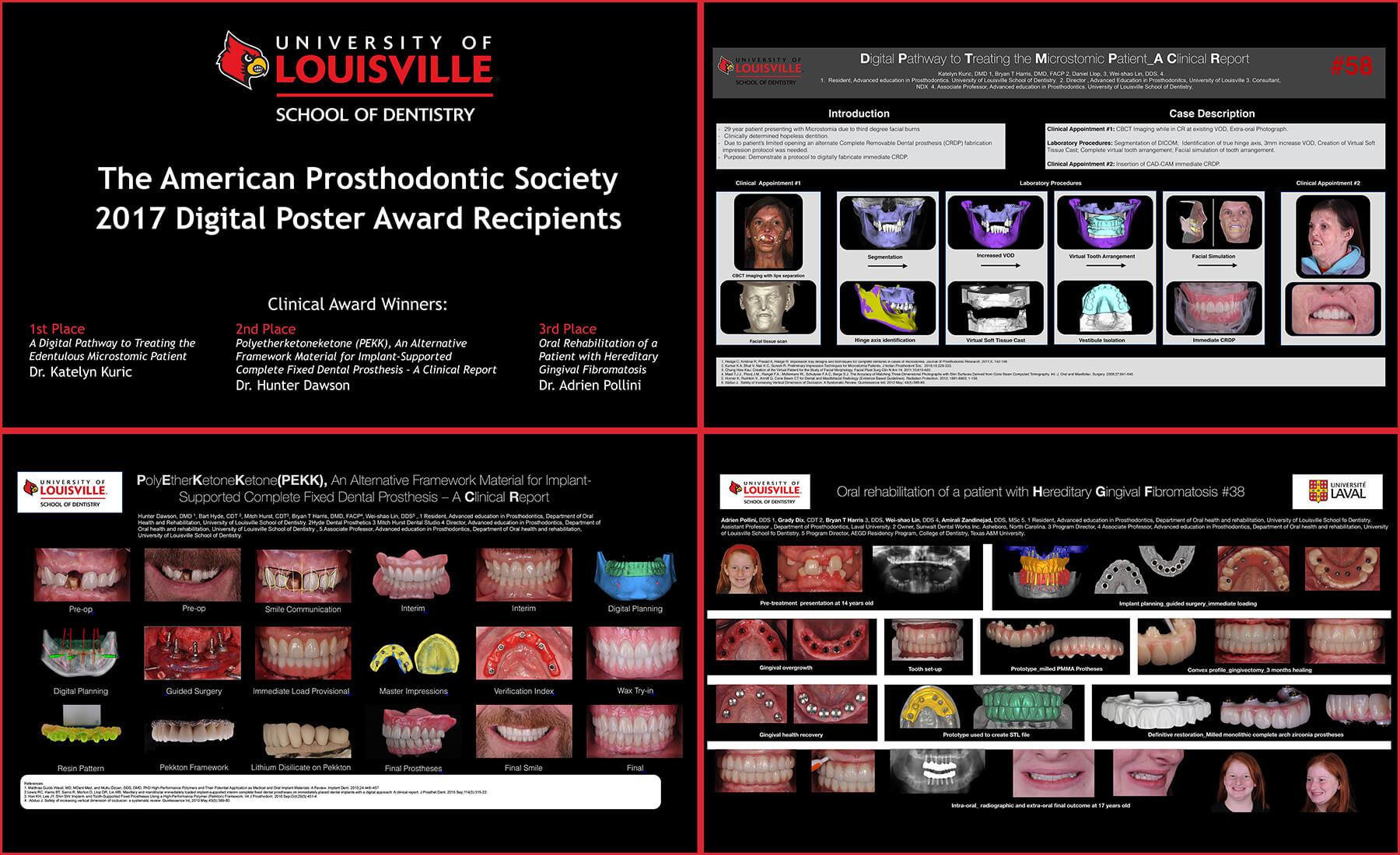 2017 Prosthodontic Posters