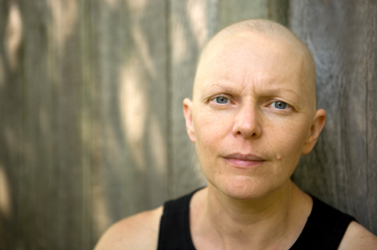 Photo of woman with cancer
