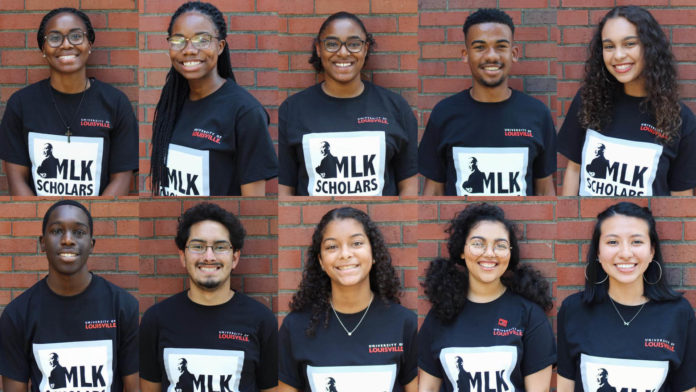 members of the mlk scholars program