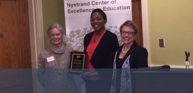 Dr. Sheron Mark 2016 Nystrand-Offutt Scholar