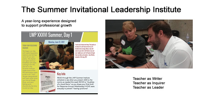 The Summer Invitational Leadership Institute