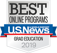 US News Grad Education badge