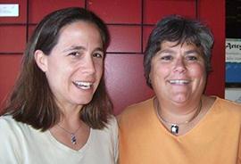 Julie Decoteau and Melissa Caudill, co leaders