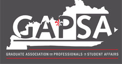 GAPSA: Graduate Association of Professionals in Student Affairs