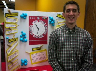 Student poster at the 2014 Symposium on Student Writing