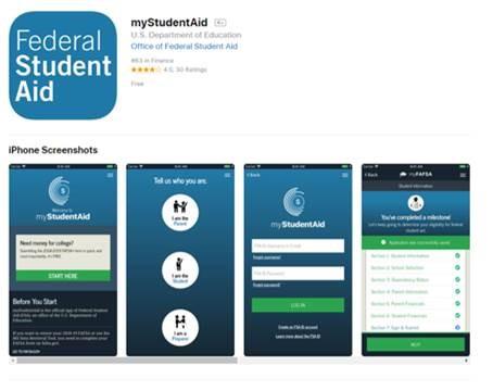 Image - myStudentAid App