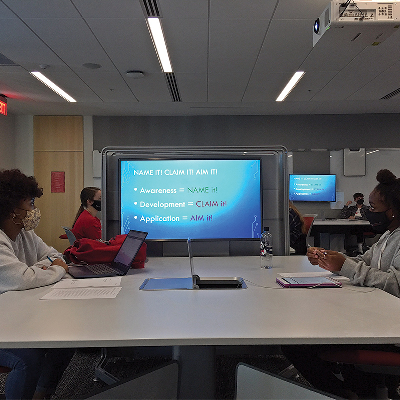 Fall 2020 student participation FYF seminar amidst the pandemic