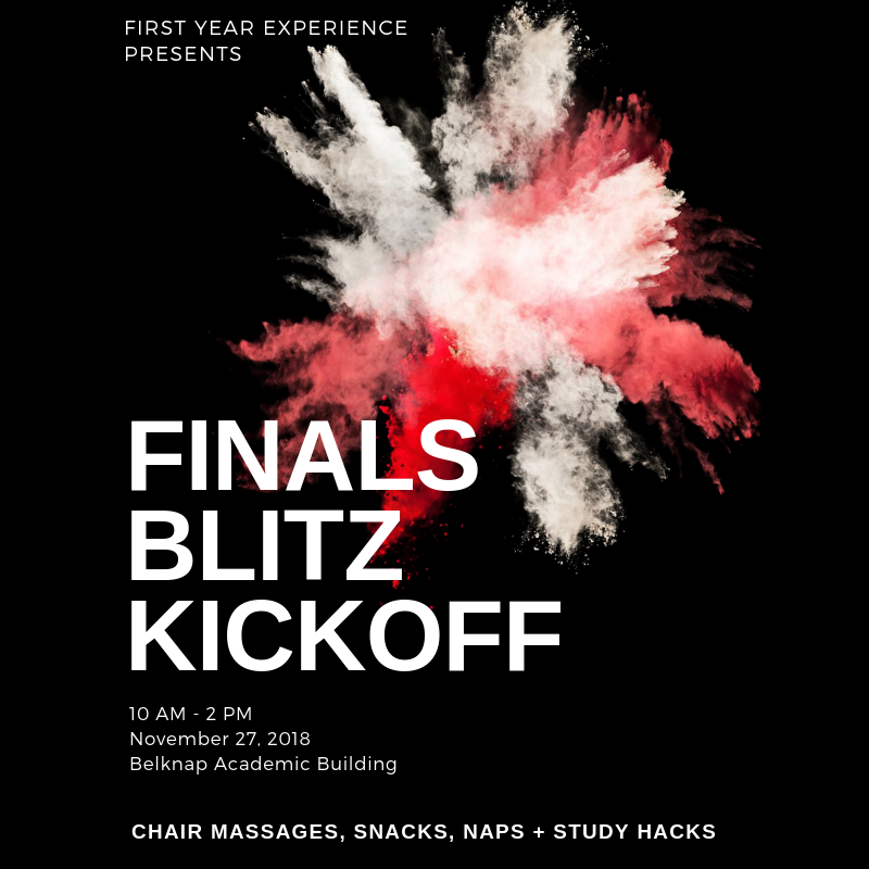 Finals Blitz Kickoff
