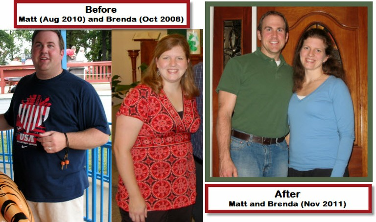 Matt & Brenda's Before and After